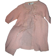 Sweet long Pink Sweater for your Dydee Baby doll & friends Frree P&I US Buyers