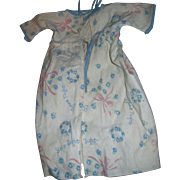 Wonderful Blue Good Night Sleep Tight Kimono for Dyee Bby doll & Friends Fee P&I US Buyers