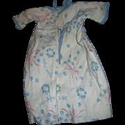 Wonderful Blue Good Night Sleep Tight Kimono for Dyee Bby doll & Friends Fee P&I US Buyers