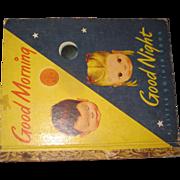 Vintage Eloise Wilkin Good Morning Good Night Golden Book Free P&I US Buyers