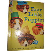 Adorble Four Little Puppies Book Photos Frees Free P&I US Buyers