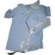 Wondeful Baby Blue Bonnet  & Coat for DyDee & Friends Free P&I US Buyers