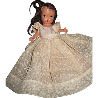 Jointed Nancy Ann Jointed Bisque StoryBook Doll for Parts Free P&I US Buyers