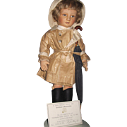 "John R Wright 18"" Christopher Robin  Doll Series II 107/500 Free P&I US Buyers"