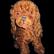 "Wonderful Vintage 11"" Cocker Spaniel Dog Possible Steiff Free P&I US Buyers"