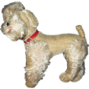 "Vintage 9"" Steiff White poodle Dog Free P&I US Buyers"