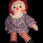 Non Talking Raggedy Ann Doll Free P&I US Buyers!