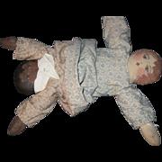 """1990 cloth 13"""" Topsy Turvy Talbott Doll Co Free P&I US Buyer"""