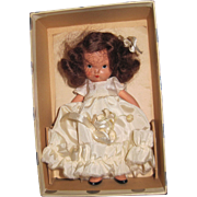 No 132 When She was Good Nancy Ann Story Book doll Silver Box JL Free PI US Buyers
