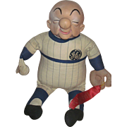 "28"" Mr Ma Goo GE Baseball Doll Free P&I US Buyers"