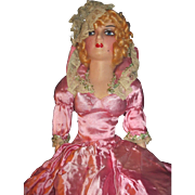 "Wonderful 27"" All Original Lash Boudoir doll Free P&I US Buyers"
