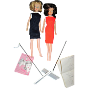 Blonde & Brunette Tressy doll w/accessories Free P&I US Buyers