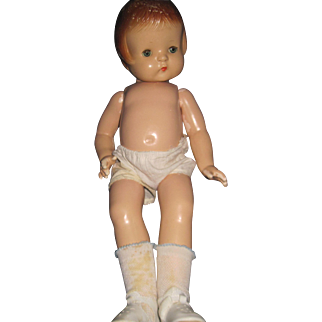 """Vintage 21""""  Effanbee Patsy Ann Composition doll Free P&I US Buyers"""
