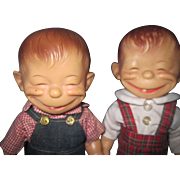 Adorable Effanbee Alfred Neuman Catoon Dolls Free P&I US Buyers !