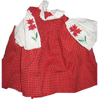 Another Adorable Dress for Patty PlayPal Doll Free P&I US Buyers