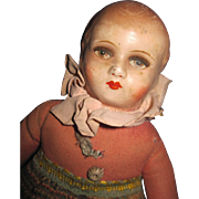 "9"" Beautiful Face attle head doll Free P&I US Buyers"