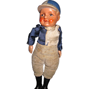 """8"""" Awesome Jockey Doll Great for Horse collectors Free P&I US Buyers"""