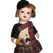 "8"" Redhead Scottish Lass Doll Free P&I US Buyers"