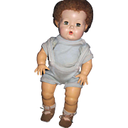 "Adorable 12"" Effanbee Dy Dee Baby Boy Doll Free P&I US Buyers"