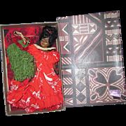 Vintage Elise Denny Hawaiian Doll Box set Free P&I US Buyers