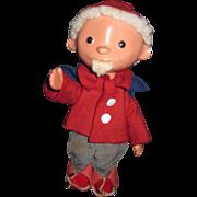 "9"" German Dwarf Gnome Elf Doll Free P&I US Buyer"