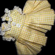 Madame Alexander Little Genius Doll Dress Free P&I US Buyers