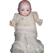 "Sweet  8"" German Bisque Bye Lo Doll free P&I US Buyers"