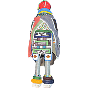 "17"" Ndebele African Beaded Doll  Free P&I US Buyers"