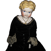 """Beautiful 24"""" Blonde Exposed Ear China Doll Free P&I US Buyers!"""