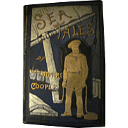 Rare 1800's Sea Tales James Fenmore Cooper book Free P&I US Buyers