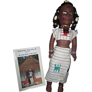 International Tribal doll Fulani W. Africa Doll Free P&I US Buyers