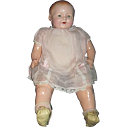 "18"" Sweet Flirty Eyed IDEAL Compo Baby Doll  free P&I US Buyers!"