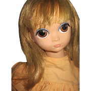 "20"" Royal Big Eye Lonely Lisa  Poseable doll   Free P&I US Buyers"