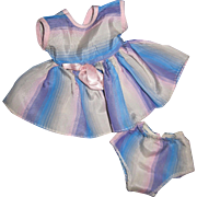 Nice Tafetta Dress & Panties for American Character Baby Doll Free P&I US Buyers