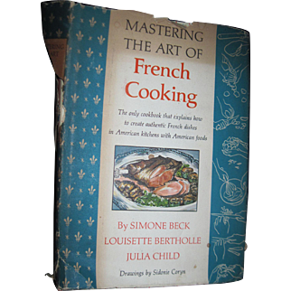 1963 Julia  Child Mastering The Art of French Cooking 5th print Free P&I US Buyers