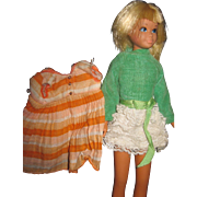 Vintage Barbie Skipper dollw/outfit Free P&I US Buyers!