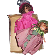 2 Bisque Nancy Ann Story Book dolls Seasons Free P&I US Buyers