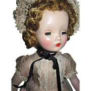 "Beautiful 17"" Madame Alexander Winnie Walker Doll Free P&I US Buyers"