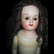 "18"" Nippon Morimra Bisque head/Doll Free P&I US Buyers"