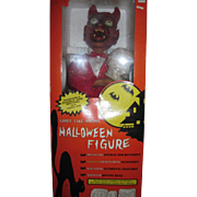 "23.5"" Motionette Halloween Telco Ghoul Devil Skull Animated & Illuminated w/box Free P&I US Buyers"