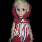 "17"" Vintage 60"" Mod Doll Free P&I US buyers - Red Tag Sale Item"