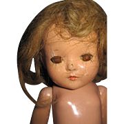Effanbee Compo Patricia Doll for Parts or restoration Free P&I US Buyers