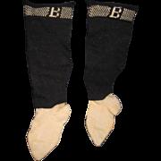 Wonderful Pr Bursa Socks for china or bisque dolls Free P&I US buyers