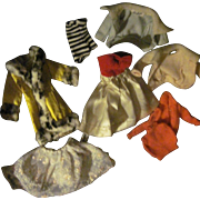 Nice assortment of tagged Vintge Barbire doll Clothes Free P&I US BUyers