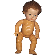 "Adorable 12"" Effanbee  Dy-Dee Baby doll Free P&I US Byers!"