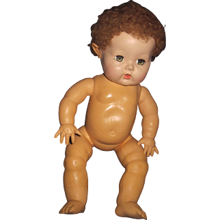"""Adorable 12"""" Effanbee  Dy-Dee Baby doll Free P&I US Byers!"""