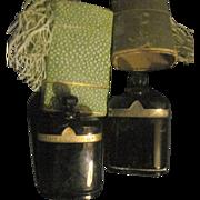 2 Nuit De Noel Caron Perfume Bottles Empty Free P&I US Buyers