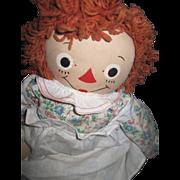 "18"" Raggedy Ann Georgene Myrtle Gruelle Free P&I US Buyers"