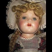 "1930's 17"" Madame Alexander McGuffie Ana compo w/box Free P&I US Buyers"