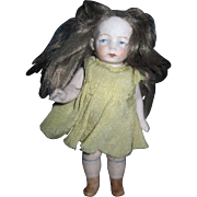 "5"" Sweet All Bisque German Doll Free P&I US Buyers"